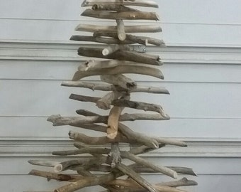 Driftwood Christmas Tree 7 ft Handcrafted by North Idaho Drift