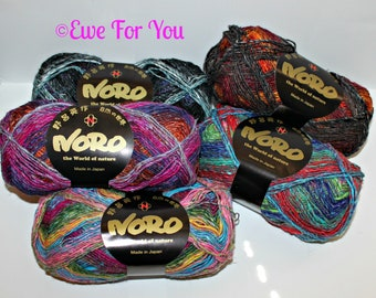 Silk Garden Sock Yarn By Noro Of Japan   Colors Inspired By Nature, Eisaku  Noro
