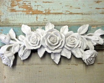 Shabby Chic Furniture Appliques Rose Bouquet * do it yourself Chic original!