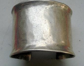 Rare Vintage antique tribal old silver bracelet bangle cuff rabari jewelry
