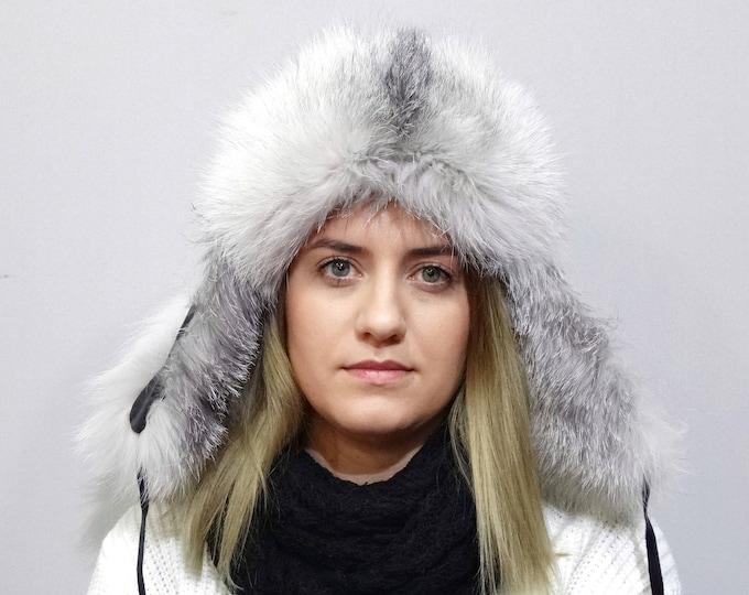 Unisex Fur Trapper Hat, Ushanka F758