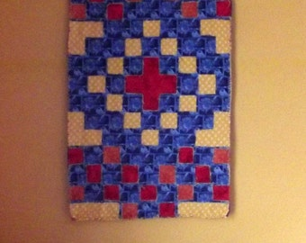 Southwest Cross Quilted Table Runner or Wall Hanging Pattern