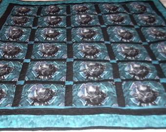 Marvel Black Panther quilt