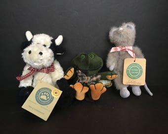 Boyd's Bears YOUR CHOICE Cow Frog Mouse