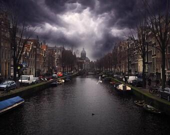 Amsterdam Street & Canals