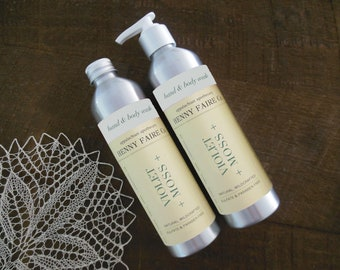 violet + moss body lotion   all natural body lotion with clean floral & woods scent   unisex perfume body care   8 oz