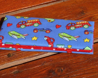 Magic Wallet - Billfold Small Truck Print