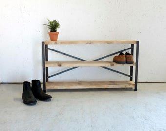 Industrial Style Shoe Rack