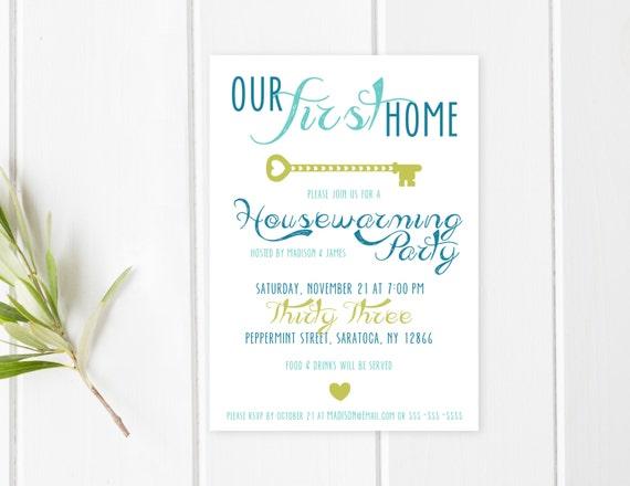 Housewarming-Party-Einladung Einweihungsparty Einladung