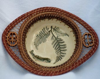 Salmon and Fern Bowl