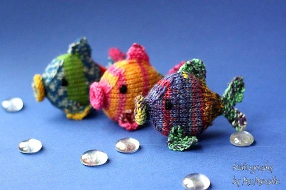 Amigurumi Fish Tutorial : Amigurumi fish knitting pattern easy knitting tutorial with