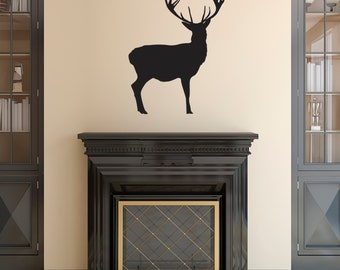 Stag or Stags Wall Decal