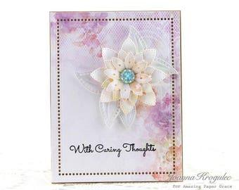 Thinking of You Card, Cards, Birthday, Handmade Card, Homemade Card