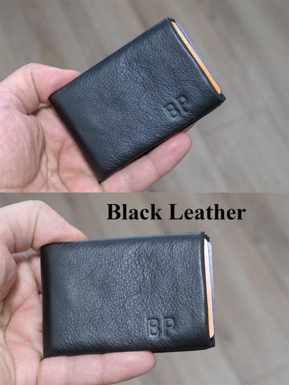 Best Minimalist Wallet, Leather Wallet, Slim Wallet, Mens Wallet, Womens Wallet, Handmade Gift Idea, RFID Wallet