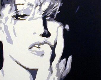 Original Pop Art Painting - Madonna