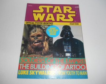 1977 Star Wars Official Poster Monthly (Episode IV) #4