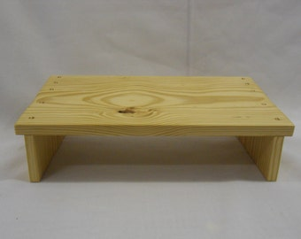Twins meditation stool or footbench