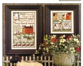 May by Prairie Schooler Counted Cross Stitch Pattern/Chart