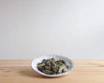 Modern Chai No. 3 - organic spiced loose leaf green tea, jasmine, ginger, cardamom, tulsi