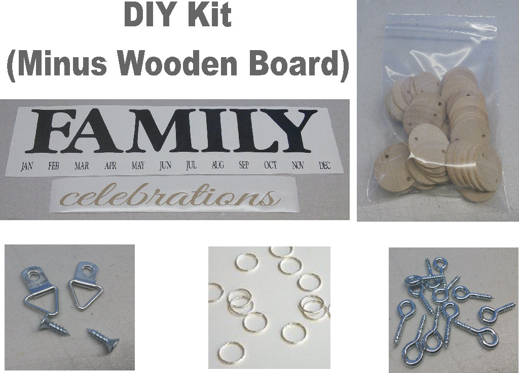 Family birthday board kit diy kit diy crafts birthday board zoom solutioingenieria Image collections