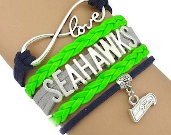 Seahawks infinite love bracelet