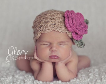 Crochet Hat Tutorial, Crochet PATTERN Hat, DIY, PDF file, Instant Download, Premie, Newborn thru Adult, Hat Pattern, Baby Girl Hat, SSp010