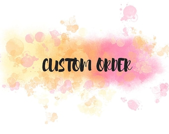 Custom Order (A laptop case)