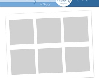 11 x 14 Storyboard  - 6 Pictures - Photographer Resources