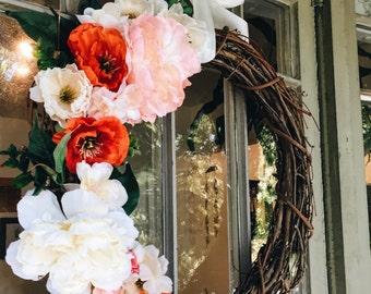Classical Grapevine Wreath