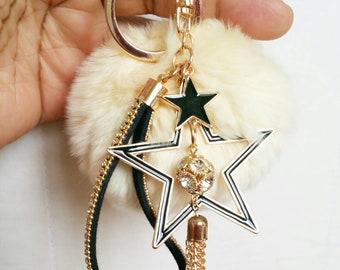 Fashionable Keychain/Bag Accessory