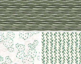 MORE FABRIC CHOICES - Green // Crib Sheets & More /Made To Order/Organic, Minky or Cotton: Fitted Crib Sheet/Changing Pad/Blanket/Skirt