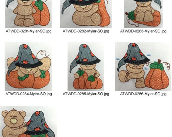 Toby-Pumpkins ( 7 Machine Embroidery Designs from ATW )