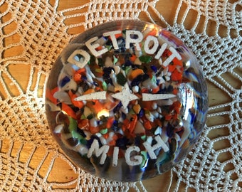 Detroit Michigan Paperweight