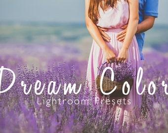 Dream Color Lightroom Presets - 10 Dreamy Presets - Adobe Lightroom Presets for 4, 5, 6 and CC - Portrait, Wedding, Landscape