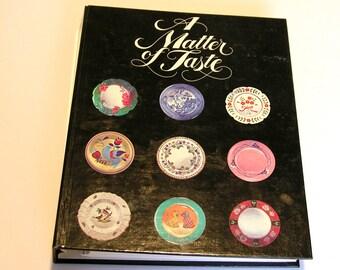 A Matter of Taste Junior League of Morristown New Jersey Community Cookbook