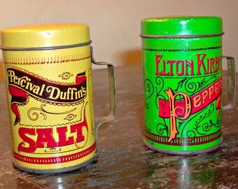 Vintage Salt & Pepper Shakers Set