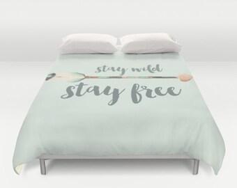 Watercolor boho arrow Duvet Cover queen and king duvet cover bedroom decor bedding boho hipster