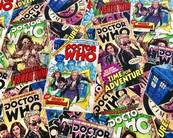 Doctor Who Vintage Comicbook Covers