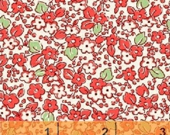 Red Floral from Storybook Classics by Windham Fabrics
