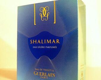 Shalimar Light by Guerlain 2.5 oz Shalimar Legere Eau de Toilette Spray Empty Box No Bottle