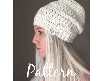 Crochet Beanie Pattern - Diana Beanie - Crochet Pattern - PDF Digital Download
