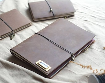Blue Whale Traveler's Notebook 「Passport/Standard/A5 Size」