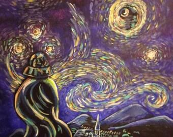 Vader Starry Night