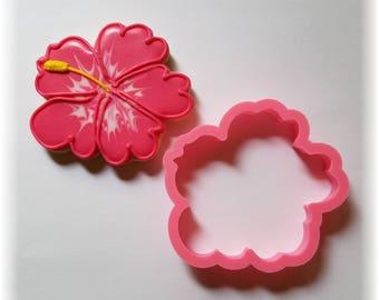 Hawaiian Hibiscus Flower Cookie Cutter