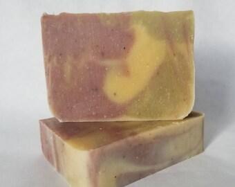 Lemon Patchouli Handmade Soap, Lemon soap, Patchouli soap, Handmade Soap, Homemade Soap, Lemon Patchouli