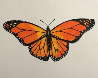 Monarch 4 x 6 print MADE TO ORDER