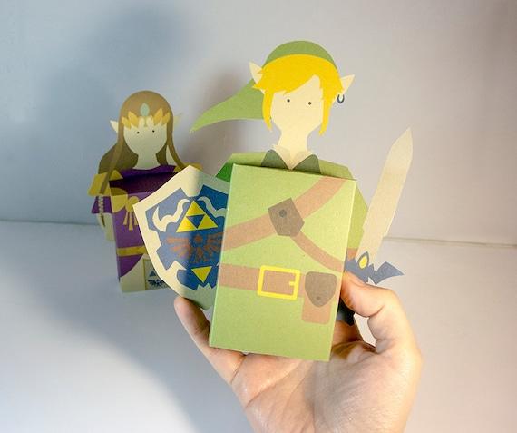 Large Zelda Link Emotibox Funny Greeting Card Birthday Card