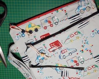 Automobile Travel Large Project Bag