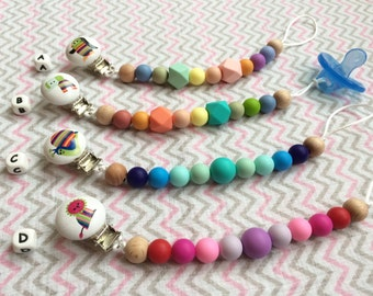 Silicone Pacifier clip, Silicone Teething Beads, Chew Beads
