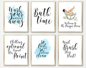 bathroom wall decor, wall art, bathroom art, bathroom decor, funny bathroom art, girls bathroom, bathroom wall art, bathroom prints, prints